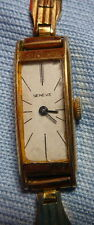 OLD WATCH MONTRE ELDOR GENEVE FEMME PLAQUE OR GILT FRANCE ACIER INOXYDABLE STEEL