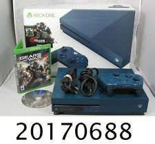 Microsoft Xbox One S - Gears of War 4 - Special Edition Bundle-500GB-Deep Blue