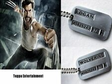 Wolverine Origins Steel Dog Tag Military Pendent Necklace