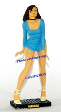MANARA figurine résine pin up sexy LOULOU en robe bleu woman figure lou-lou NEW