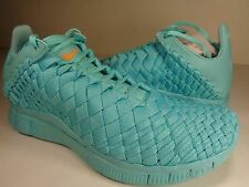 Nike Free Inneva Woven Tech SP Light Aqua Kumquat SZ 7.5 (705797-448)