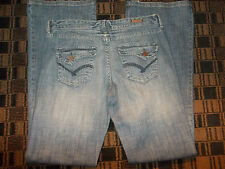 Light blue denim jean pante Blue jean pants Flap pocket blue denim jean W32X35L