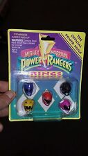 Mighty Morphin' Power Rangers Official Power Rings MOC 1993 Saban