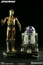 Sideshow Star Wars R2D2 And C-3PO Premium Format Figures 2 Single Items Set UK