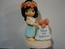 z Precious Moments-VERY RARE Chapel Hawaiian Exclusive NM **SIGNED BY SAM**