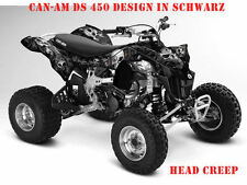 INVISION DEKOR KIT ATV CAN-AM RENEGADE, DS250, DS450, DS650 GRAPHIC HEAD CREEP B
