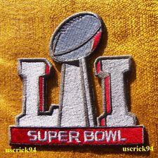 Super Bowl LI 51 Superbowl Patch New England Patriots vs Atlanta Falcons