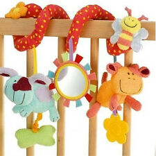 Animal Handbells Developmental Toy Bed Bells Rattle Soft Toys For Baby Fast Ship