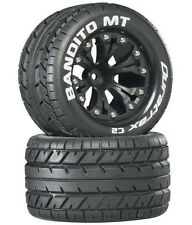 "Duratrax Bandito MT 2.8"" Mounted 1/2"" Offset C2 Tires / Wheels (2) Stamede Jato"