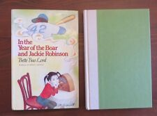 In the Year of the Boar and Jackie Robinson HB/DJ Bette Bao Lord 1st Printing