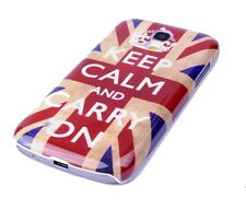 Hülle f Samsung Galaxy S4 mini i9190 Schutzhülle Case Cover England GB keep calm