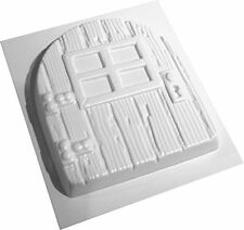 Fairy Door Concrete Or Plaster Mould Abs Plastic Mold Easy Clean Dennycraftmould