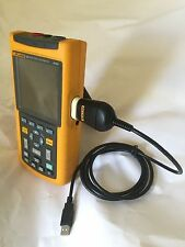 PC Data Lead For Fluke Scopemeter (Free Software Can Be Downloaded, See Listing)