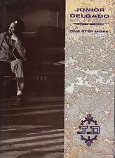 junior delgado one step more lp promo w/pres info & biography