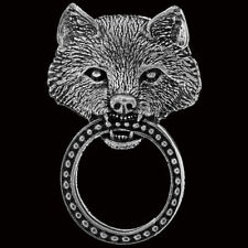 WOLF SUNGLASS HOLDER PIN BIKER  PIN