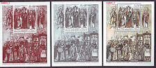 2013 Bulgaria St.Cyril & Methodius Joint issue Czech Rep.Slovakia, Vatican 3xS/S