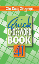 Daily Telegraph Quick Crossword Book 41: No. 41, Telegraph Group Limited, New Bo