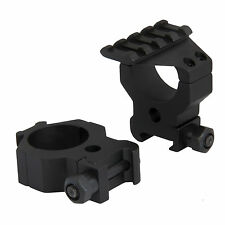 CCOP Tactical Rings with Top Rail for 30mm tube Rifle Scope Size High AR-R3006WH