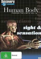 Human Body Pushing the Limits Sight & Sensation NEW R4 DVD