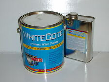 43401 POR-15 Paint WhiteCote 1 Gallon each  with hardner
