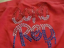 ECKO RED ~ New! NWT Size Medium ~ Stamped Drippy Embellished Cropped TUBE Top