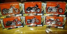 Maisto Harley Davidson diecast motorcycles series 6 complete set of 6