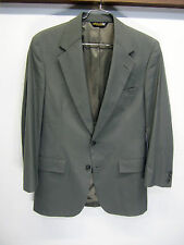 vtg Brooks Brothers Blazer Sport Coat gray wool 2 btn sz 38R made in USA