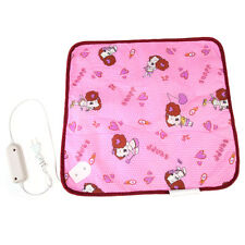 Small Pet Puppy Kitten Electric Heat Pad Dog Cat Bunny Heater Mat Blanket