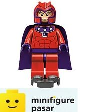 sh031 Lego Marvel Super Heroes X-Men 6866 - Magneto Red Outfit Minifigure - New