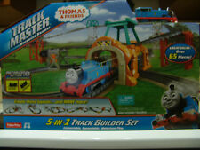 THOMAS & FRIENDS 5 IN 1 TRACK MASTER MOTORIZED TRAIN TRACK SET FREE SHIPPING