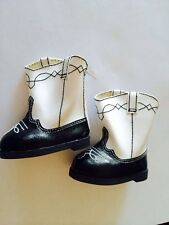 American Girl Doll of Today 1998 Rootin Tootin Cowgirl Halloween Boots ONLY