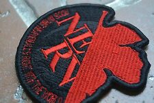 Neon Genesis Evangelion EVA Nerv Uniform Embroidered Patch Cosplay