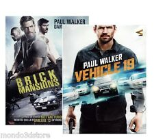 BRICK MANSIONS + VEHICLE 19 (2 DVD) con Paul Walker, David Belle, Rza