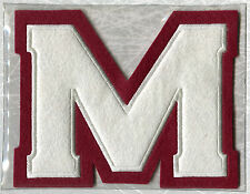 1935 MONTREAL MAROONS OFFICIAL NHL HOCKEY TEAM THROWBACK PATCH WILLABEE WARD