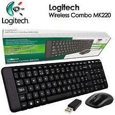 Logitech MK220 Wireless Keyboard and Mouse Combo with 3 yrs warranty