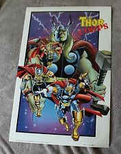 THOR Corps 1992 Beta Ray Bill Dargo Thunderstrike Milgrom Marvel Press Poster VF