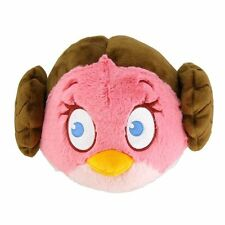 "ANGRY BIRDS STAR WARS 8"" SOFT PLUSH - PRINCESS LEIA - BRAND NEW"