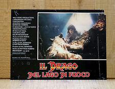 IL DRAGO DEL LAGO DI FUOCO fotobusta poster Dragonslayer Peter MacNicol Robbins
