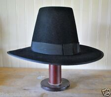 Pilgrim - Plymouth Style Hat - (S, M, L, XL) - Mayflower Style - FREE SHIPPING!!