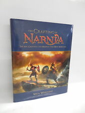 Crafting Of Narnia Book WETA Workshop Illustrated Guide Creatures Weapons