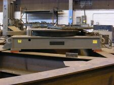 ARONSON FT-240 FLOOR ROTARY TURN TABLE LOW PROFIL 120 TON CAP WELDING POSITIONER