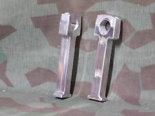 "Metric Chopper 7""  tall polished  aluminum handlebar risers fits 7/8"" bars"
