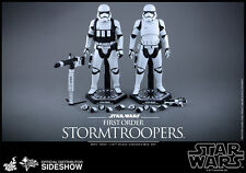 "12"" Star Wars First Order Stormtroopers 2pk Hot Toys 902537 In Stock"