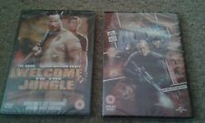 DVDs Welcome To The Jungle & Doom – Starring WWE The Rock (Sealed)