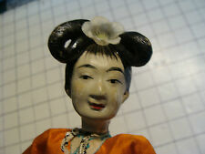 vintage doll: early  DOLL, very cool, light wear, great clothes