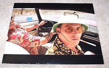 JOHNNY DEPP SIGNED FEAR AND LOATHING IN LAS VEGAS 11X14 PHOTO A W/COA RAOUL DUKE