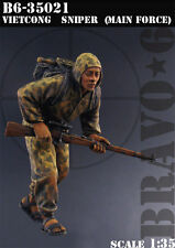 BRAVO-6 35021 Vietcong Sniper (Main Force) 1/35 RESIN FIG.