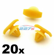 20x Skoda Octavia (04-13) Rubber Door Seal Clips, Weatherstrip Seal Clips