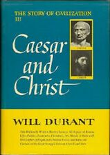 Will Durant~Ceasar and Christ~1ST(19TH)/DJ~RAREST COPY