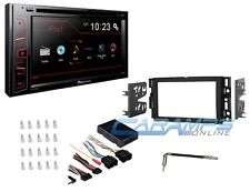 NEW PIONEER DOUBLE 2 DIN DVD CAR STEREO RADIO WITH COMPLETE INSTALLATION KIT